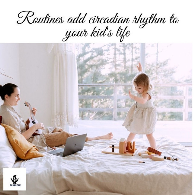 Daily routines with kids at bed time is very improtant in early childhood development.