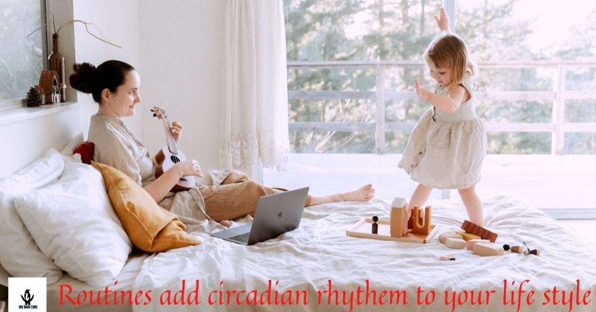 routines are a good behavioural strategy for kids