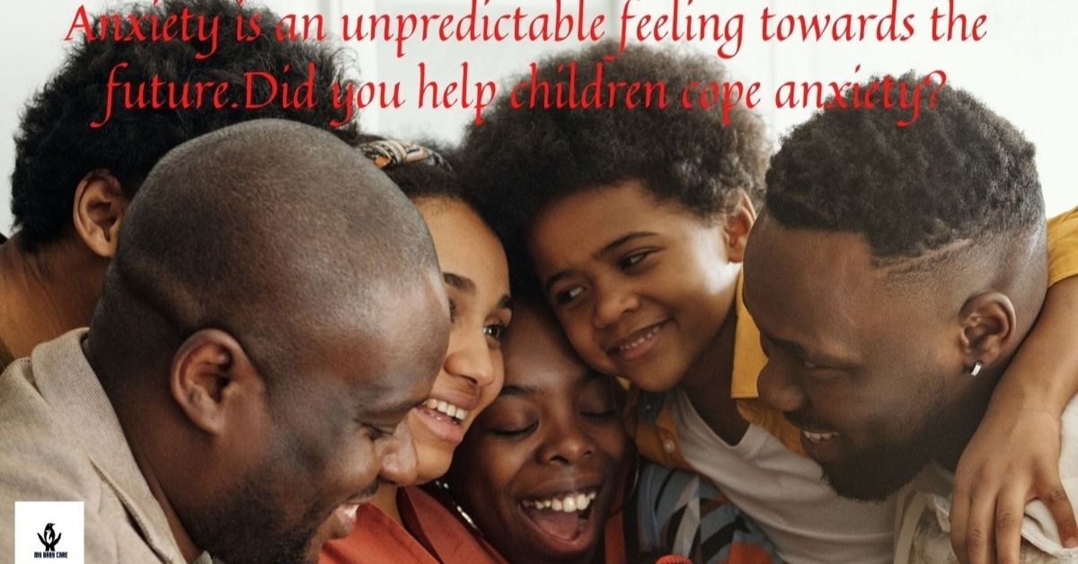 Family gatharing helps a lot to relieve children's anxiety.