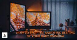 baby monitors are beeping due to various reasons